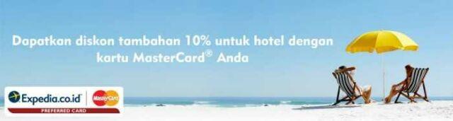 Promo Hotel expedia.co.id dengan mastercard