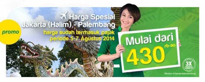 Promo Citilink Jakarta Palembang Harga Spesial
