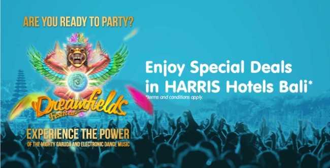 Promo Hotel Harris Dreamfield Festival 2014