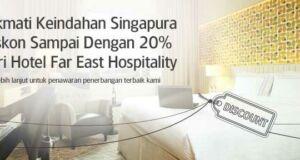 Promo Garuda Indonesia diskon hingga 20% di Far East Hospitality