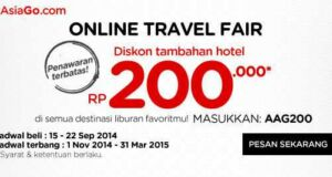 promo air asia online travel fair