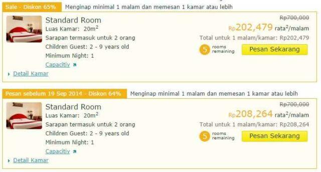 Promo Hotel Bali Kuta Ratna Hotel Hoterip.com