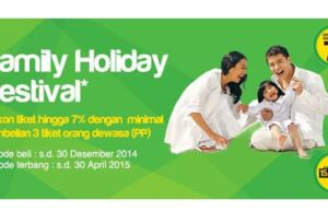 Banner Family Holiday Promo Citilink
