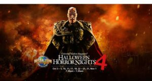 Hallowen Horror NIght 4 Promo ANZ Universal Studio Singapore