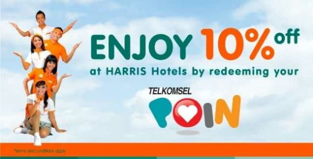 Promo Hotel Harris Telkomsel Point