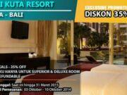 Promo Hotel Bali Kuta Resort Hoterip