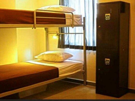 hotel murah di bandung - bunkbed chez bon hostel