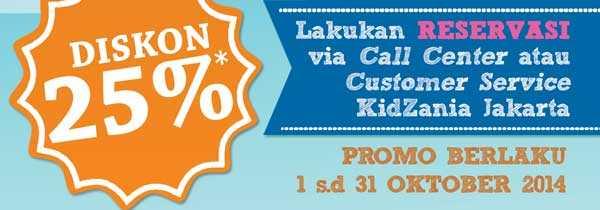 Promo Kidzania Oktober 2014