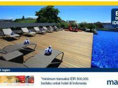 promo hotel kartu kredit mandiri cachback Rp 100.000