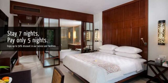 Promo padma hotel Bali legian Stay 7 Night Pay 5 Night