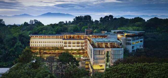Landscape View Padma Hotel Bandung