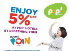 promo telkomsel poin pop hotel