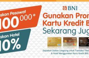 promo hotel kartu kredit BNI tiket.com