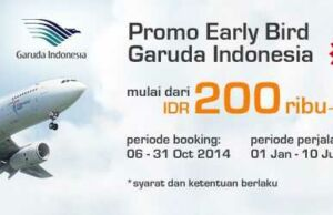 Panorama Tours - Promo Garuda Early Bird