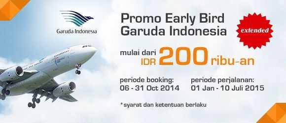 Panorama Tours - Promo Garuda Early Bird