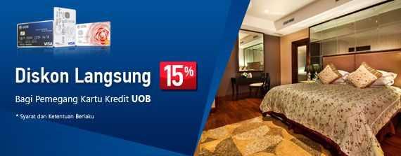 Promo Hotel Kartu Kredit UOB Raja Kamar