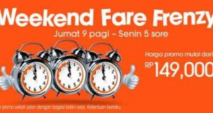 Promo Jet Star weekend fare frenzy harga murah
