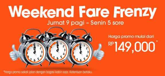 Promo Jet Star weekend fare frenzy harga murah