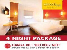 Promo Hotel Amaris Dewi Sri 4 Malam