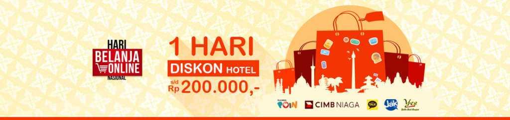 Promo hotel pegipegi diskon hingga Rp 200.000
