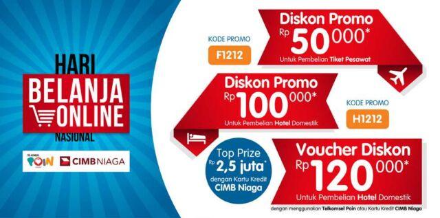 Diskon hotel Rp 120.000 di tiket.com