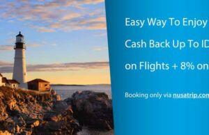 Nikmati cashback tiket pesawat hingga Rp 125.000 dengan Kartu Kredit ANZ di Nusatrip