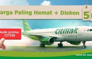 Promo Citilink diskon Rp 50.000 di panorama tours