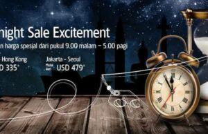 Harga Hemat Garuda Indonesia dengan midnight sale