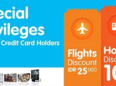Promo hotel dan tiket pesawat diskon hingga 10% di tiket.com dengan kartu kredit BCA
