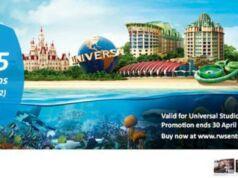 Promo BCA universal studio singapore diskon hingga 25%