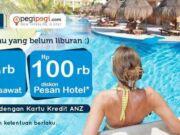 Promo hotel Anz kartu kredit di pegipegi.com