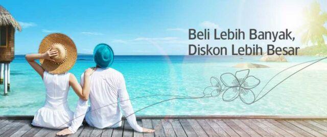 Promo Garuda Indonesia Beli Banyak Diskon Lebih Besar