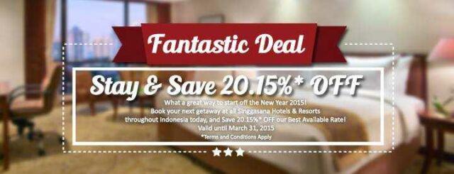 Promo Hotel Sultan Jakarta diskon 20.15%
