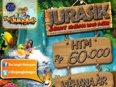 Promo The Jungle Adventure Bogor JURASIK tiket masuk hanya Rp 60.000