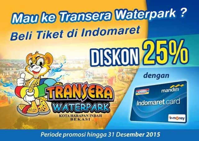 Promo Transera Indomaret dapatkan diskon hingga 25%