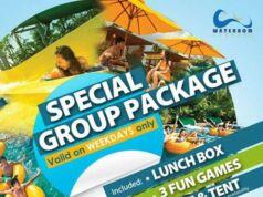 Promo Waterbom Jakarta Group tiket dapatkan harga spesial tiket masuk Rp 110.000
