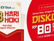 promo tiket pesawat tiket.com nikmati potongan harga Rp 80.000
