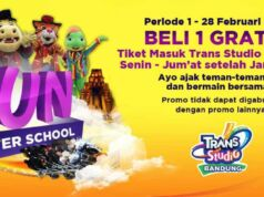 Promo Trans Studio Bandung After School Beli 1 Gratis 1