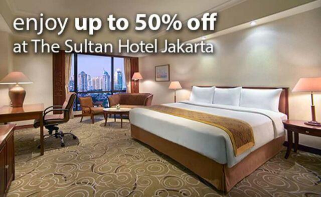 Diskon 50% Hotel Sultan dengan Kartu Kredit Mandiri