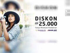 Tiket Pesawat Sriwajaya Murah menggunakan kode promo dari Panorama Tours