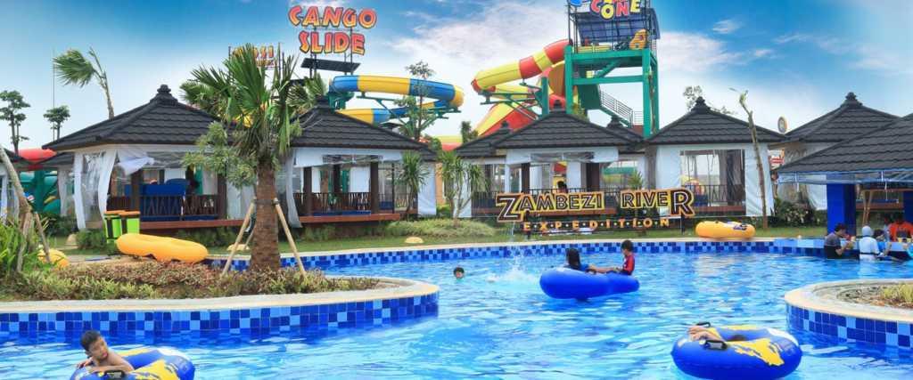 Tiket Masuk Htm Transera Waterpark Bekasi 2016 Rp 60k Travels Promo