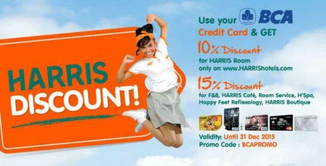 Promo Hotel Harris BCA,BNI, MANDIRI, CIMB
