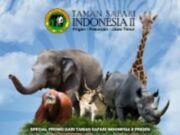 Promo Taman Safari Prigen Buy 2 Get 1 Free khusus Jumat