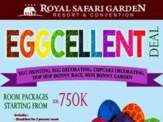 Room Package Rp 750k ++ di Royal Safari Garden Bogor