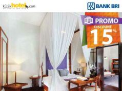 Promo Hotel Kartu kRedit BRI Klikhotel dapatkan diskon 15% pesan secara online