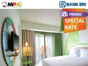 Promo hotel MaxOne MPHG Group diskon hingga 56% dengan menggunakan kartu kredit BRI