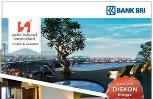 Promo Kartu Kredit BRI Swiss Belhotel Spesial Rate dan diskon hingga 57%