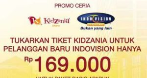 Promo Kidzania Jakarta Indovision Buy 1 Get 1 Free