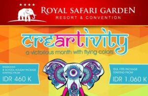 Royal Safari Garden Promo Lebaran