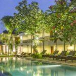 Amadea Bali Rsort & Villa - Night Pool : Diskon paket menginap kartu kredit BII